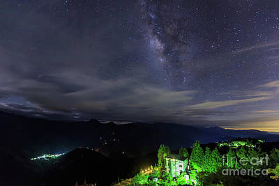 Princess Diana - Milky way in Taiwan by Chon Kit Leong