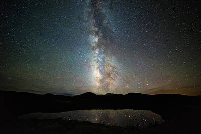 Photograph - Milky Way Indy Pass by Darren White