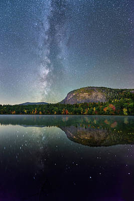 Photograph - Milky Way Intersect by Michael Blanchette