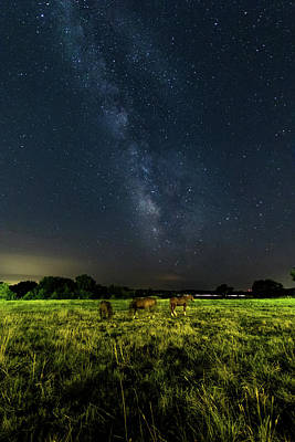 Photograph - Milky Way by Jay Stockhaus