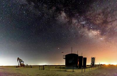 Photograph - Milky Way Lease by Jonas Wingfield