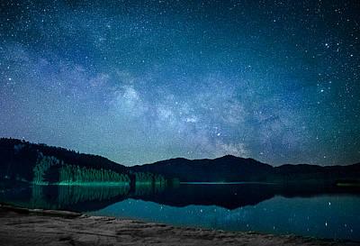 Photograph - Milky Way Morning by Dakota Light Photography By Dakota