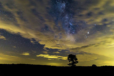 Photograph - Milky Way Over Big Meadows by Stefan Mazzola