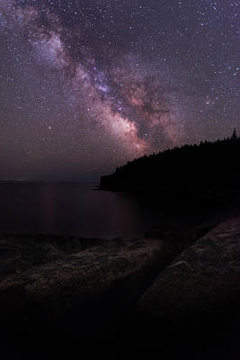 Photograph - Milky Way Over Boulder Beach by Jesse MacDonald