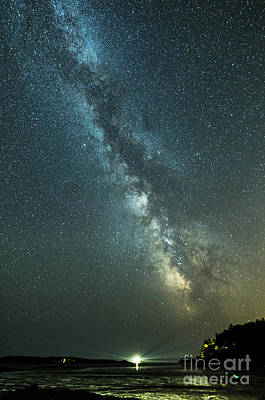 Photograph - Milky Way Over Clams Flats by Patrick Fennell