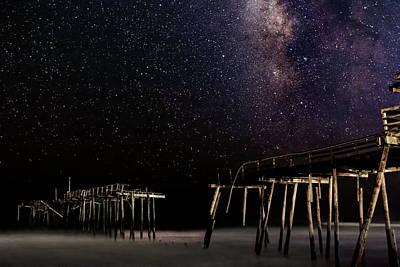 Milky Way Over Frisco Art Print