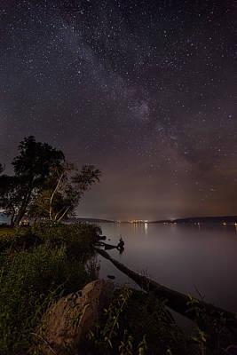 Milky Way Over Ithaca Art Print