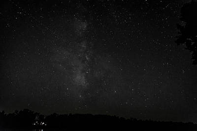 Photograph - Milky Way Over Lake Chesdin by Jemmy Archer