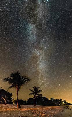 Photograph - Milky Way Over Little Cayman by Ian Sempowski