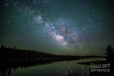 Photograph - Milky Way Over Lost Lake by Spencer Baugh