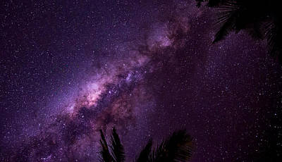 Photograph - Milky Way Over Mission Beach Narrow by Avian Resources