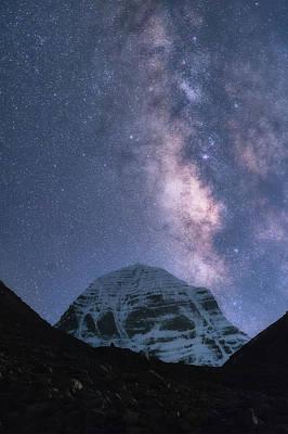 Jainism Wall Art - Photograph - Milky Way Over Mt. Kailash by Alister Benn