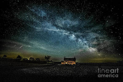 Photograph - Milky Way Over Soperton by Roger Monahan