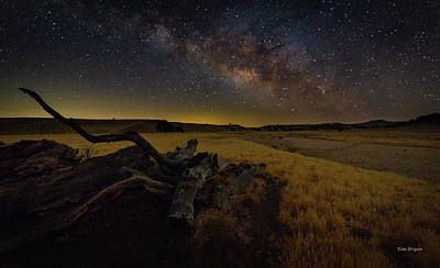 Photograph - Milky Way Over The Canyon  Ranch by Tim Bryan