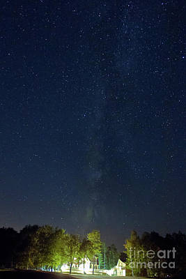 Photograph - Milky Way Over Vic's by Butch Lombardi
