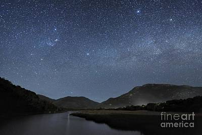 Moonlit Night Photograph - Milky Way Over Wilsons Promontory by Alex Cherney, Terrastro