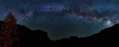 Photograph - Milky Way Over Yosemite by Andrew Soundarajan
