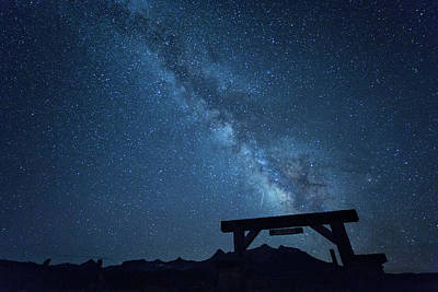 Photograph - Milky Way Ranch by Denise Bush