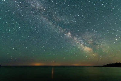 Photograph - Milky Way by Randy Scherkenbach