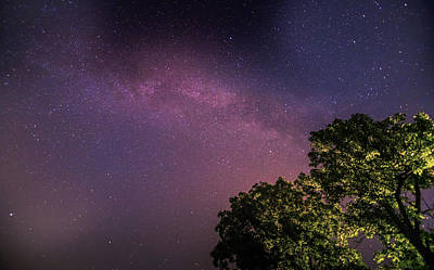 Photograph - Milky Way Rising In Ohio by Dan Sproul