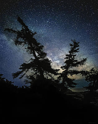 Photograph - Milky Way Rising by Marty Saccone