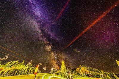 Photograph - Milky Way Stars Wanderlust 2 by Carmen Tosca