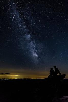 Milky Way Viewed From Rough Ridge Art Print