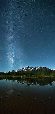 Photograph - Milkyway Over Tallac By Brad Scott by Brad Scott
