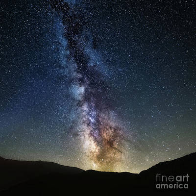 Photograph - Milkyway Sqaured by Anthony Heflin