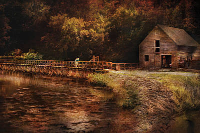 Photograph - Mill - The Village Edge by Mike Savad