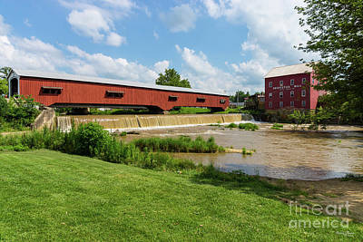 Photograph - Mill And Bridgeton Bridge by Jennifer White
