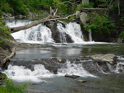 Photograph - Mill Brook In Windsor Vermont by Catherine Gagne