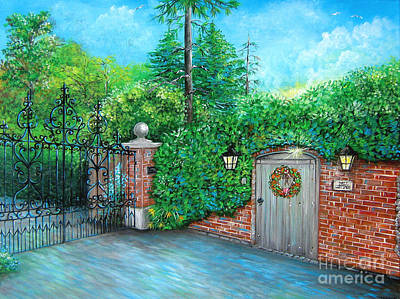 Painting - George Michaels Mill Cottage Garden by Patrice Torrillo