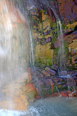 Photograph - Mill Creek Falls 1 by Diana Douglass