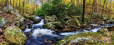 Mill Creek In Fall #4 Art Print
