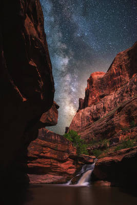 Photograph - Mill Creek Milky Way by Darren White