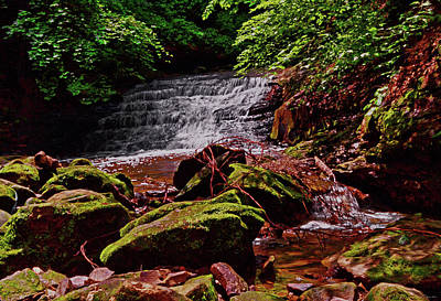 Photograph - Mill Creek Waterfalls 006 by George Bostian