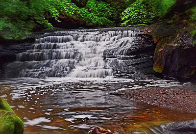 Photograph - Mill Creek Waterfalls 007 by George Bostian
