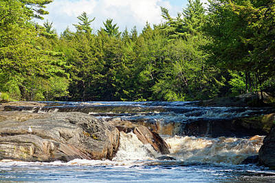 Photograph - Mill Falls, Kejimkujik National Park, Nova Scotia by Gary Corbett