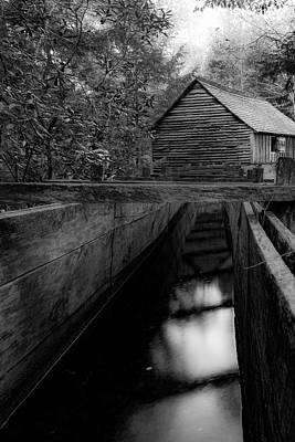 Photograph - Mill Flume  by Steven Ainsworth