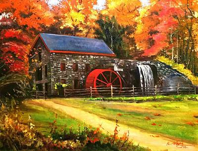 Mill House Art Print