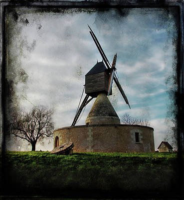Photograph - Mill In Provence by Hugh Smith