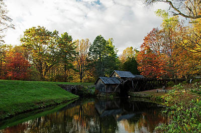Photograph - Mill On The Blue Ridge Parkway 2 by Bill Jordan