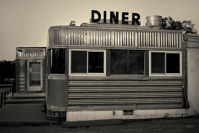 Photograph - Mill Pond Diner I Toned by David Gordon