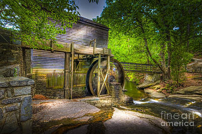 Woodland Trail Photograph - Mill Pond by Marvin Spates