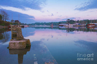 Photograph - Mill Quay Mylor Bridge Cornwall by Terri Waters