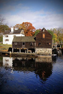 Photograph - Mill Reflections by Cate Franklyn