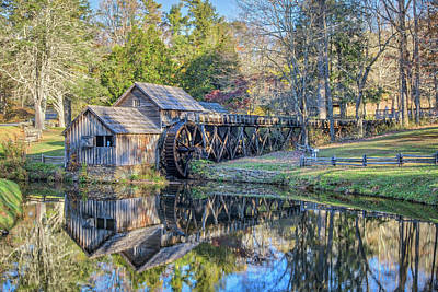 Photograph - Mill Reflections by Jane Luxton
