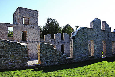 Photograph - Mill Ruins by Debbie Oppermann