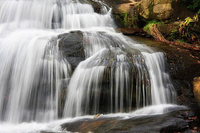 Photograph - Mill Shoals Falls Close Up by Jill Lang